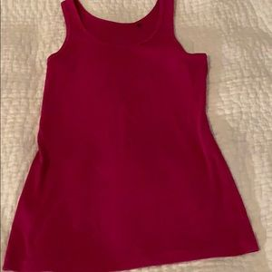 Tommy Bahama Women's Ribbed Rank Top Sz L